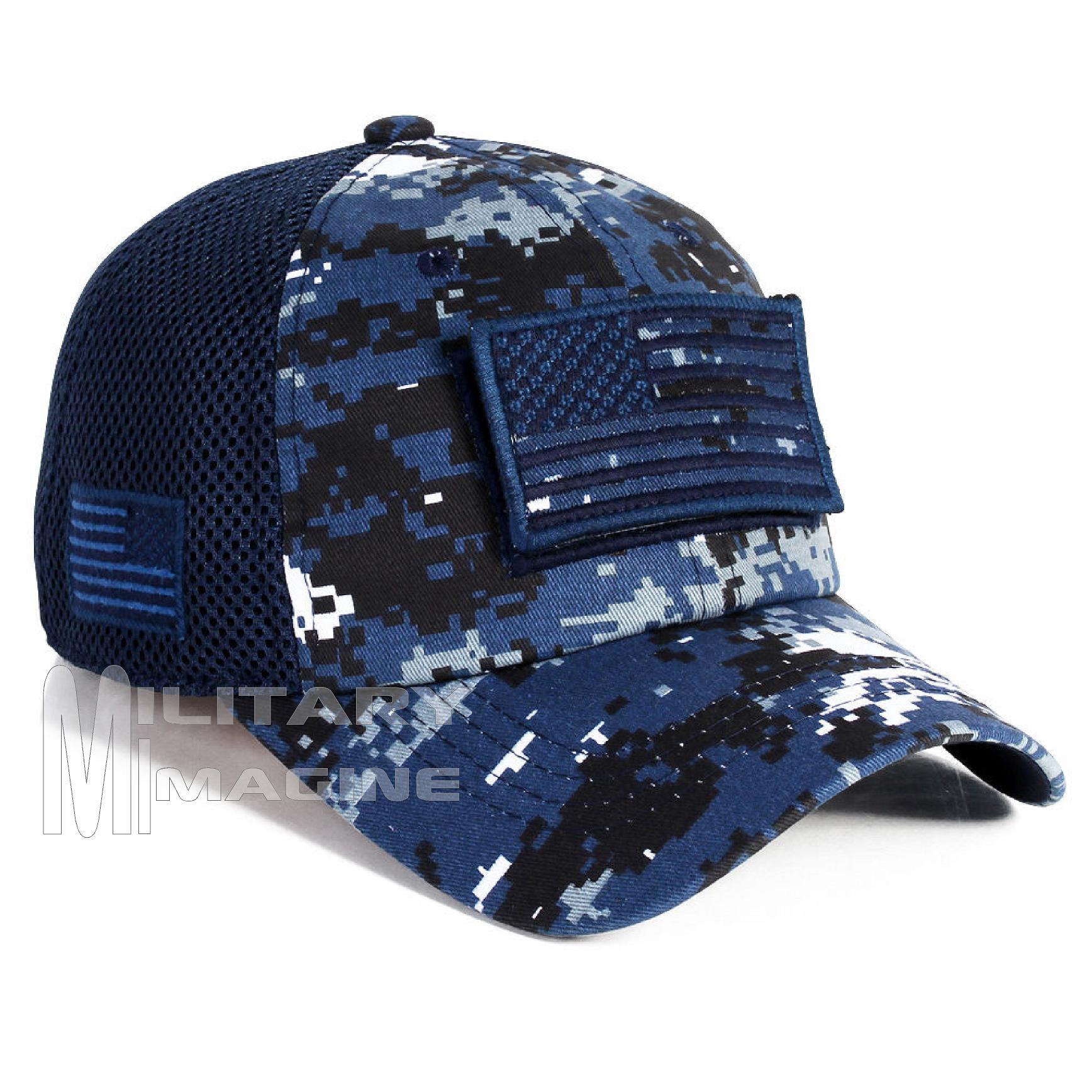 63ce4d7bfed USA Flag hat Navy Digital Patch Micro Mesh Tactical Operator Military cap.  Return to Previous Page. Sale!  1