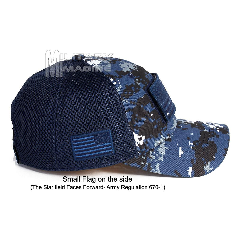 8f822edf06d USA Flag hat Navy Digital Patch Micro Mesh Tactical Operator Military cap.  Return to Previous Page. Sale!  1 · 5