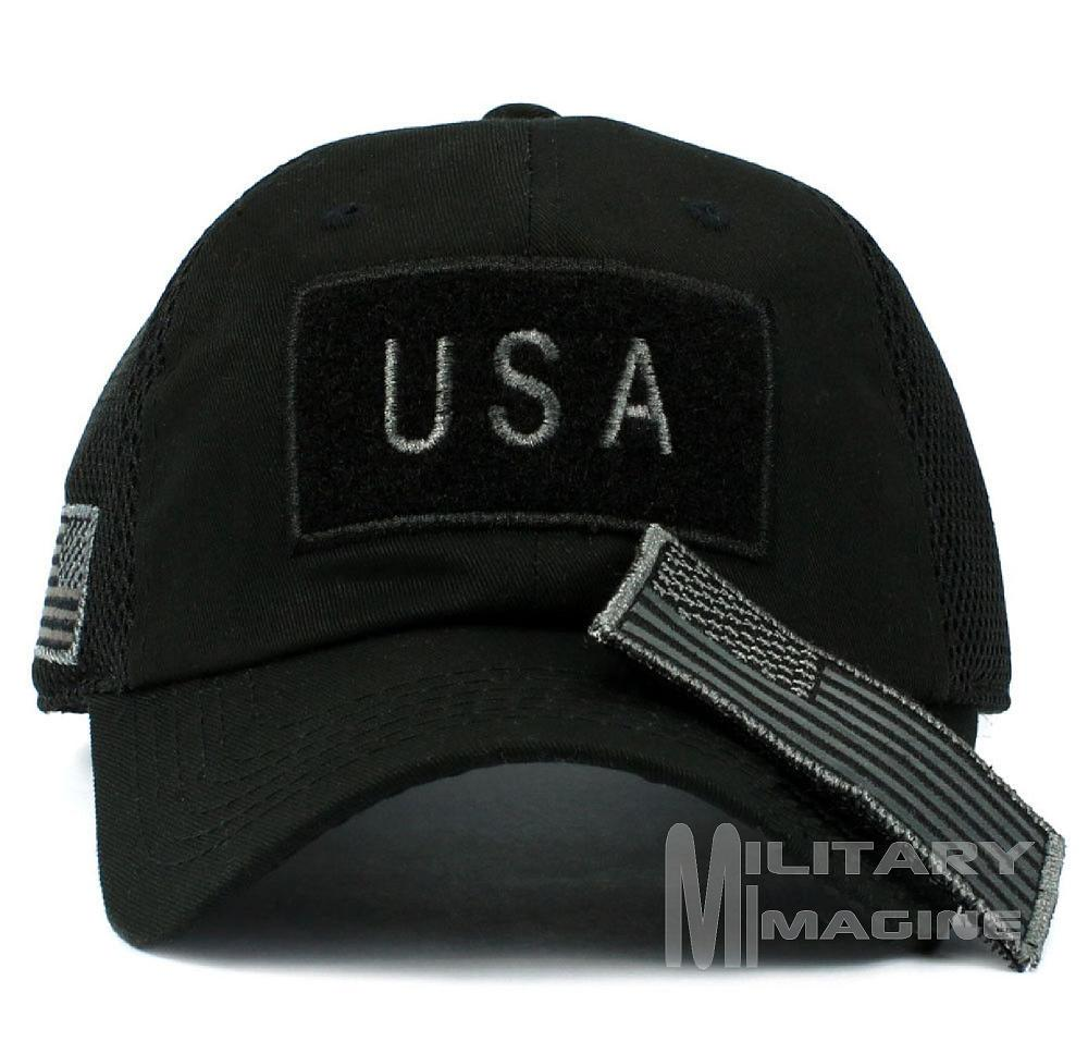 354d53c02c5 USA Flag hat Black Patch Micro Mesh Tactical Operator Military cap. Return  to Previous Page. Sale! Military imagine 1 · Military imagine 2