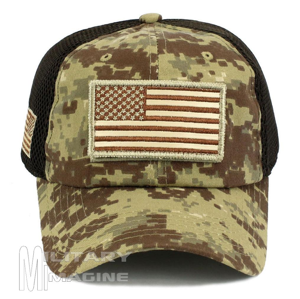0e32b653 USA Flag hat Desert Digital Patch Micro Mesh Tactical Operator Military cap.  Return to Previous Page. Sale! Military imagine 1. 8. Military imagine 2